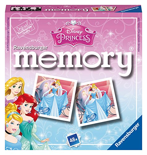 Ravensburger 22312 Disney Princess Mini Memory (Match Memory Spiel)