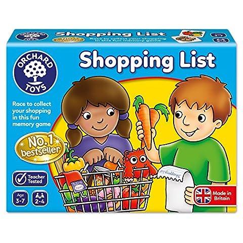 Orchard Toys - Jeu de Liste de Courses