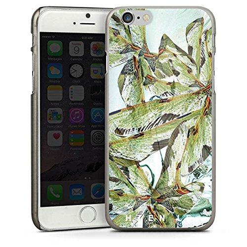 Apple iPhone 5 Housse étui coque protection HIEN LE Fashionweek Libellule CasDur anthracite clair