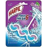 Harpic Power Fresh 6 Toilet Rim Block, Lavender - 39 g