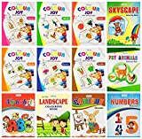 Colouring books set of 12 in Note Book size from Inikao