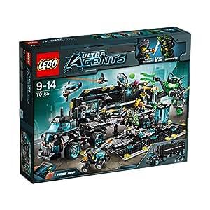 Lego Ultra Agents Mission Hq, Multi Color
