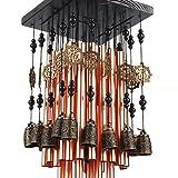 scotte® 28Tubo de metal carillón de viento Bell de cobre decoración carillón de viento