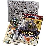 """'schneidme ister Beeline, 200exclusiva Vektor Diseños de producción de abejas CD-ROM para plóter, plantillas, pared Tatuajes, Rótulos y mucho más. Just Graphics to make Money from """""""