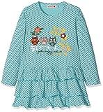 boboli 214063, Vestido para Bebés, (Estampado Flor Topo Niebla), 68 (Tamaño del Fabricante:68cm)