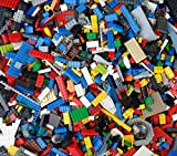 Lego 1000g mixed pieces, blocks, bricks 1 kg, over 2lb random bulk assortment
