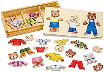 Melissa and Doug Puzzle in legno Vesti la famiglia Orsi