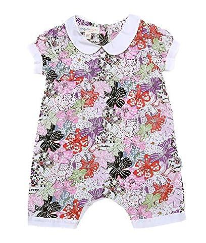 Oceankids Petites Filles Vêtements d'extérieur pour bébés Shivering Floral Jumpsuit