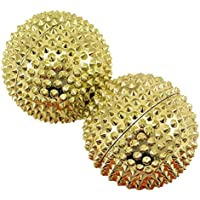 Magnet Akupunktur Massage Kugeln, 2 Stück gold groß preisvergleich bei billige-tabletten.eu