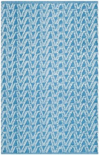 Safavieh Irene handIn- und Outdoorteppich, TMF120B, Summer / Blau, 152 X 243 cm