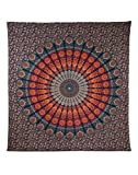 Mandala Wandbehang Indisch Baumwolle Tapestry Boho Deko Wandteppich Wall Hanging