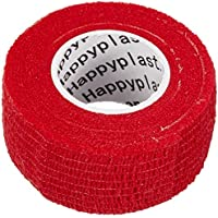 5 x Fingerpflaster, Pflasterverband, Pflaster ohne Kleber, 2,5 cm breit, rot preisvergleich bei billige-tabletten.eu