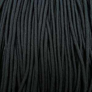 American 550 Paracord BLACK HAWK 4mm 30m / 100ft