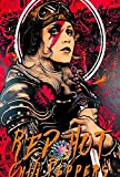 Red Hot Chili Peppers Art XL Poster, ca. 58 x 87 cm