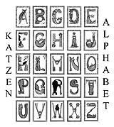 Katzen Alphabet (German Edition)