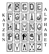 Katzen Alphabet