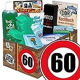 60. Geburtstag | DDR Pflegeset | mit Badusan, Florena und mehr | DDR Pflegebox