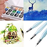 Porte-stylo stylo rechargeable d'encre pilote brosse à eau pour la peinture aquarelle dessin crayon