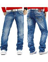 Cipo & Baxx Jeans Rib C-595 Blau