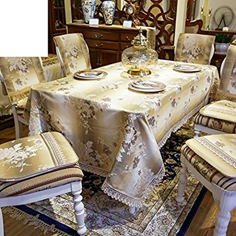 KYL YUE Lusso europeo moda tovaglia tavolo/ tavolo/ tovaglia moda