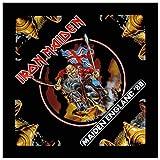 Unbekannt Iron Maiden Classic Maiden England 88 Nue Schwarz Bandana (22in x 22in)