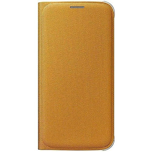 Samsung-Handyhlle-EF-WG920-Flip-Wallet-Fabric-gelb