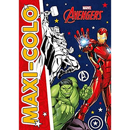 AVENGERS - Maxi-Colo - MARVEL