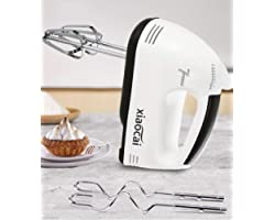 Electric Whisk Hand Mixer for Baking - 7 Speed Handheld Whisk, Kitchen Electric Food Mixers for Baking Cake Mixing, with 2 St