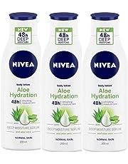 Nivea Aloe Hydration Body Lotion, 200 ml (Pack of 3)