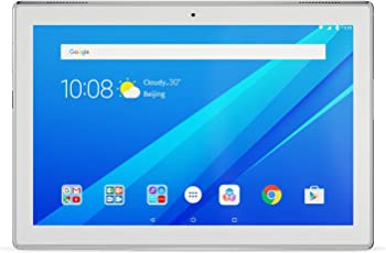 Lenovo Tab4 10 25,654 cm (10,1 Zoll HD IPS Touch) Tablet-PC (QC APQ8017 Qualcomm, 2GB RAM, 16GB eMCP, Android 7.0) weiß