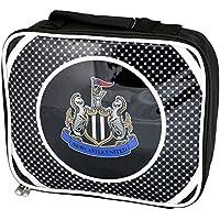 Preisvergleich für Kinder Lunch-Box / Lunch-Tasche / Brotzeit-Tasche mit Newcastle United FC Design, isoliert (Einheitsgröße) (Schwarz/Weiß)