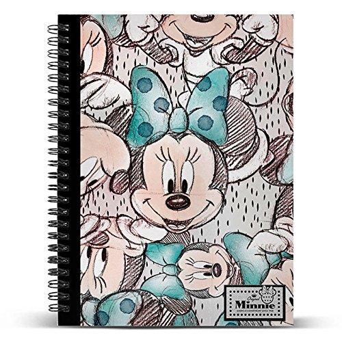 Disney- Libretas y Cuadernos, Multicolor (Karactermania KM-37861)