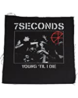 7 SECONDS - Young til i Die - Patch / Aufnäher