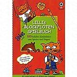 Lillis Blockfloeten Spielbuch - arrangiert für Blockflöte - mit CD [Noten/Sheetmusic]