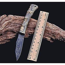 Navaja en diferentes colores y motivos–Cuchillo universal–Navaja Cuchillo de caza–directamente Envío desde Alemania de etu24, Camuflaje