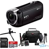 Sony HDR-CX240/B Entry Level Full HD 60p Camcorder Black Kit