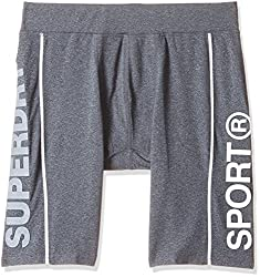 Superdry Mens Shorts (5054265582288_M71001PM_L_Grey Grit)