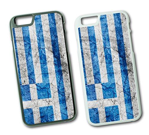 iPhone Griechenland Athen 3 Hard Tasche Flip Hülle Case Cover Schutz Handy iPhone SE Weiss