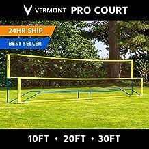Net World Sports Badminton Netz 2 Jahre Garantie 6,1 Meter oder 7,3 Meter breit Turnierqualit/ät
