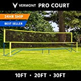 Net World Sports Procourt Mini Tennis-/Badmintonset (Tennis-/Badminton Set 5.5m)