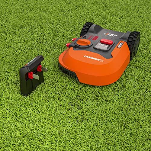 Worx Landroid M WR141E Mähroboter / Akkurasenmäher für kleine Gärten bis 500 qm / Selbstfahrender Rasenmäher für einen sauberen Rasenschnitt - 6
