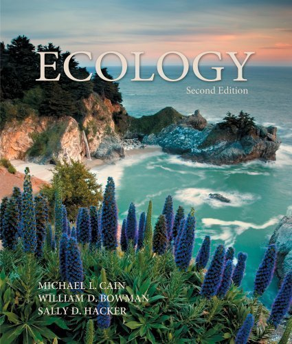 Ecology, Second Edition 2nd (second) Edition by Michael L. Cain, William D. Bowman, Sally D. Hacker [2011]