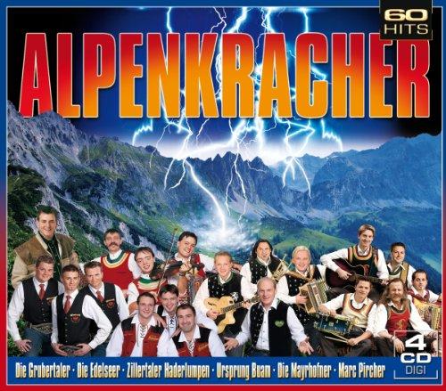 Alpenkracher (4er Digi Box mit 60 Volksmusik Kracher)