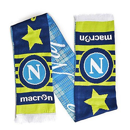 Napoli Europe SCARF Blue Light Blue Lime 14/15 Naples Macron