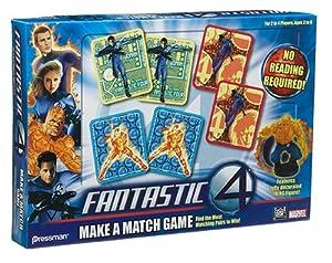Pressman Toy International Fantastic 4 Make a Match Game