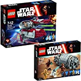 Lego Star Wars Set 75135 Obi-Wan's Jedi Interceptor + 75136 Droid Escape Pod
