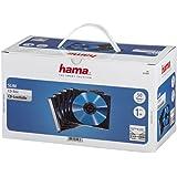 Hama 00051269 Pochettes CD Pochette de protection (pack de 50, Slim line, hauteur : 5 mm) Pochettes CD transparentes noires