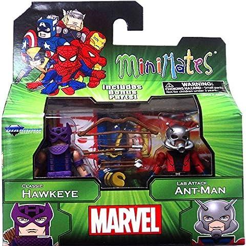 Marvel Minimates Best of Series 3: Hawkeye and Ant-Man Mini Figuras