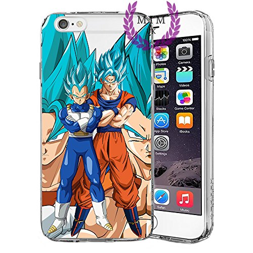 Custodie iPhone per Dragon Ball Z Super GT Case Cover - Design Ultimi Unique - Tutti i modelli iPhone - Brand New - Alta Qualità - Tournament Of Power - Goku Black Rose - Goku Blue - Gohan - Jiren - V Blue Fusions