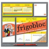 Frigobloc 2019 - Calendrier d'organisation familiale par semaine: S'organiser n'a jamais été aussi simple !